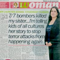 Sister's Memory Lives on After London Bombing (The Sun)