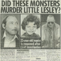 Lesley Molseed investigation (News of the World) Newspaper Article
