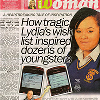 Lydia's Wish List (The Sun)