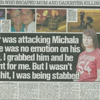 'I survived murdering 'mad wolf Turk'!' (The Sun)