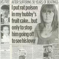 'I put rat poison in husband's fruit cake!' (The People)