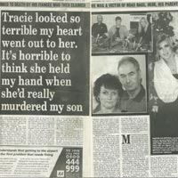 Tracie Andrews 'Road Rage Killer' (Daily Express)